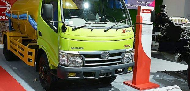 Hino New Dutro  130 HD TANGKI