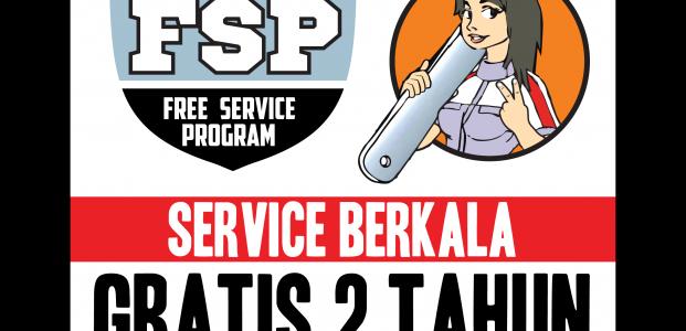 PROGRAM GRATIS SERVICE 2 TAHUN