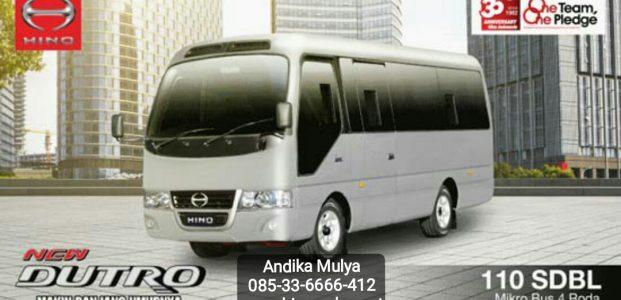 """Hino Dutro Microbus """" Jumbo Jetbus 2+ MC"""" By Adiputro Karoseri"""