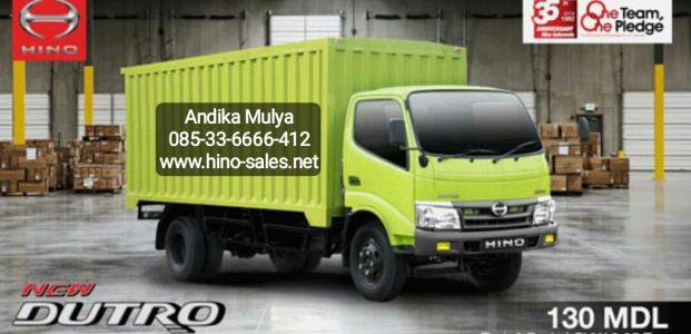 Keamanan dengan Hino Dutro 130 MDL