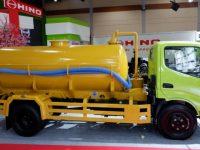 Hino New Dutro 130 HD Tangki Vacuum Jadi Andalan PUPR Atasi Banjir